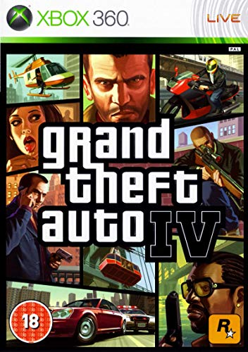 X360 Grand Theft Auto IV GTA [Xbox 360] (Xbox Autos 360 Spiele)