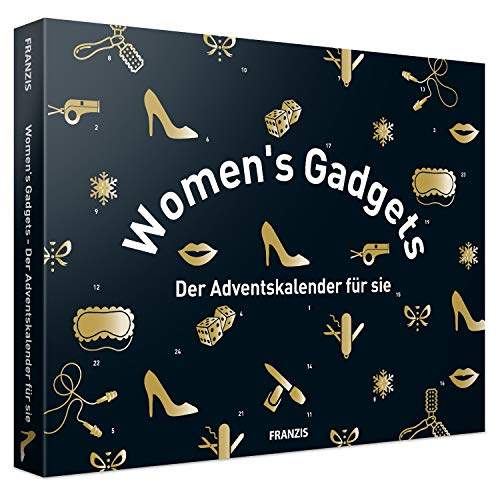 FRANZIS Women\'s Gadgets: Der Adventskalender für Sie | 24 Türchen, die den Alltag erleichtern | Jeder Tag eine kleine Überraschung | Ab 14 Jahren