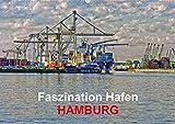 Faszination Hafen - Hamburg (Wandkalender 2020 DIN A2 quer): Szenen aus dem Hamburger Hafen in expressionistischen Ansichten (Monatskalender, 14 Seiten ) (CALVENDO Orte)