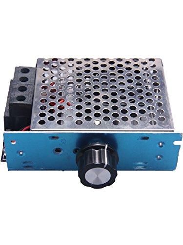Küssen U 10000W 110V AC SCR Motor Micro Speed Controller Spannungsregler Lüfter Gouverneur Super High Efficiency Temperature Control Dimmer (Motor 110v)