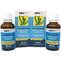 ABOFIT Eukalyptusöl Pflanzliche Erkältungstropfen zum Einreiben, Inhalieren, Einnehmen bei Erkältung 60ml (2 x... preisvergleich bei billige-tabletten.eu