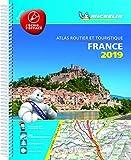 France 2019 -Tourist & Motoring Atlas A4 Laminated Spiral: Tourist & Motoring Atlas A4 spiral [Lingua francese]