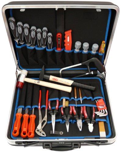 Famex 619-09 Werkzeug Komplettset High-End Qualität in ABS Schalenkoffer 32 L mit 173-teiligem Steckschlüsselsatz - 2