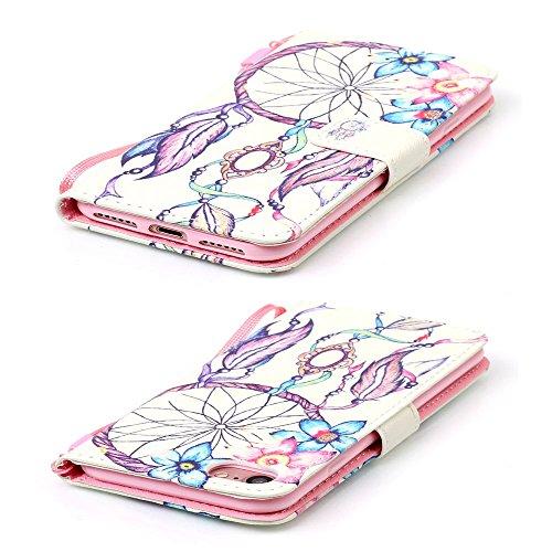 Eine Vielzahl von Farben XFAY HX-455 iPhone 7plus Handyhülle Case für iPhone 7plus Hülle im Bookstyle, PU Leder Flip Wallet Case Cover Schutzhülle für Apple iPhone 7plus-2 Farbe-1