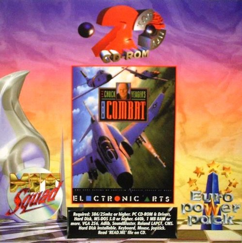 Chuck Yeager's Air Combat (DOS) (Pc Air-combat-spiele)