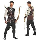 Traje Robin Hood, Talla XL, Hunter Cuentos de hadas El Cazador