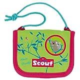 Scout 25190077300 Fahrausweishülle, 13 cm, Grün