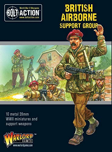 Bolt Action Warlord Games British Airborne Support Group -