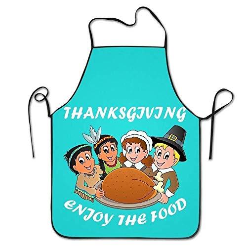 Für Kostüm Hunde Thanksgiving - HTETRERW Thanksgiving Turkey Women's Funny Creative Print Cooking Aprons