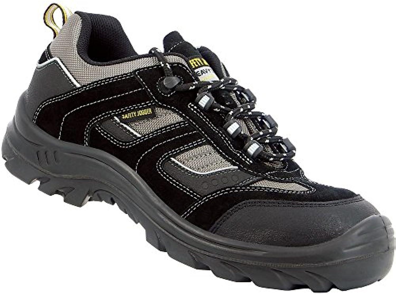 Safety Jogger Jumper, unisex – Adultos & de trabajo zapatos de seguridad S3, 36 EU, Schwarz (Blk/Blk/Dgr117Blk...