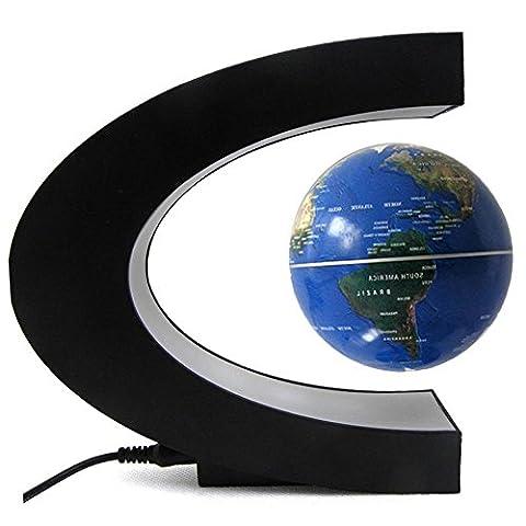 Maison De Coccinelle Pour Adultes - FUSKANG Magnetic Levitation Globe C Forme LED