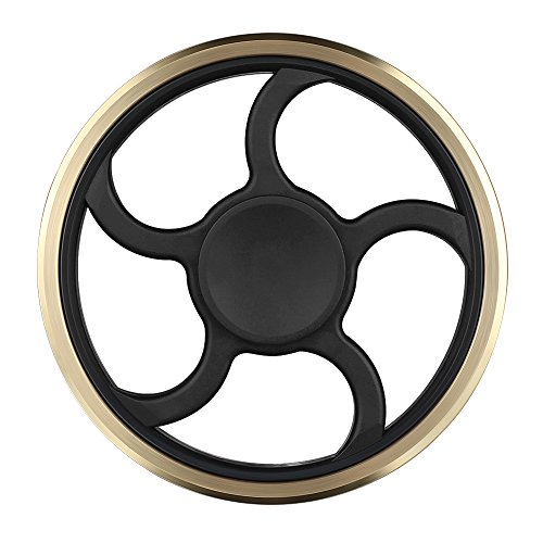 Fidget-Spinner-Mothca-Metal-Hand-Finger-Spinner-Toy-Stress-Reducer-High-Speed-Superb-Steel-Bearing-Fidget-Toys-Can-Continue-to-Rotate-for-3-5-minutes-Smoother-No-Noise-Spin-Perfect-For-Anxiety-Adult-C