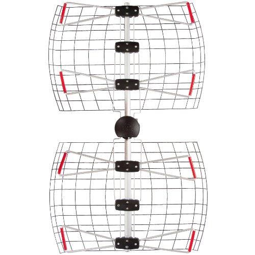4 Element Bowtie Indoor/Outdoor HDTV Antenna - 60 Mile Range