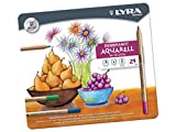LYRA REMBRANDT AQUARELL WATER SOLUBLE COLOURING PENCILS GIFT TIN OF 24 by Lyra