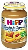 HiPP Apfel-Pfirsich, 6er Pack (6 x 190 g) - Bio