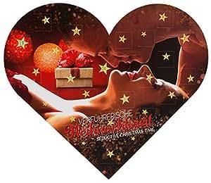 Verführerische Weihnachtszeit - erotischer Adventskalender mit erotischen Herausforderungen hinter allen 24 Türchen für Weihnachten 2017