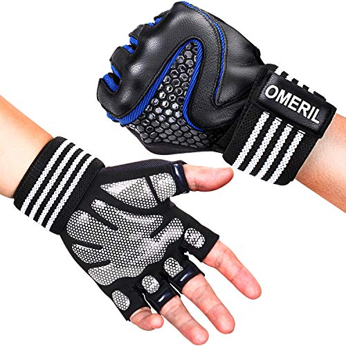 OMERIL Guantes Gimnasio Hombre Mujer, Gym