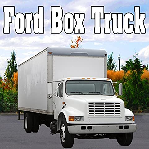 Ford Box Truck, Internal Perspective: Gas Cap Removed