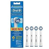 Oral-B Diş Fırçası Yedek Başlığı Precision Clean, 4 Adet
