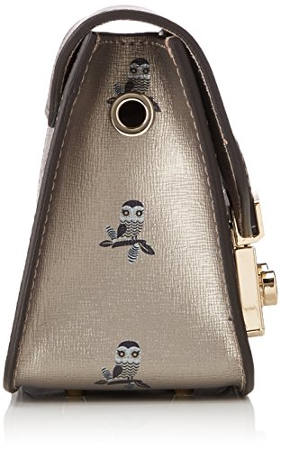 FURLA - Metropolis Mini Crossbody, Borsa Donna Oro (Toni Color Gold)