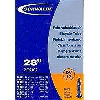 """SCHWALBE Fahrradschlauch DV17 mit Blitzventil ~ 28"""" ~ 37-622 mm (28 x 1 3/8 x 1 5/8 Zoll) (28 x 1.40 Zoll)"""