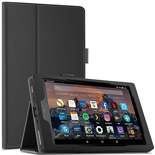 all-new-fire-hd-8-2017-tablet-with-alexa-case-cover-infiland-ultra-slim-lightweight-leather-folio-st