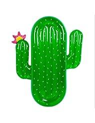 asdomo Cactus hinchable piscina flota Balsa, adultos gigante flotante colchón tumbona agua deporte Lie Down juguetes