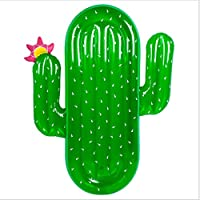 Asdomo gonflable Cactus piscine flotteurs radeau, adultes géant flottant Chaise longue de matelas d'eau Sport garni Jouets