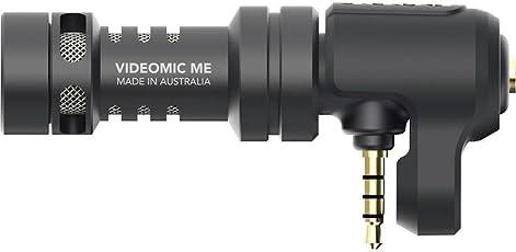Rode VideoMic Me Microfono Direzionale Compatto per Smartphone, Nero/Antracite