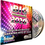 Karaoke-Chart-Hits 2020 CD+G-Disc-Pack, Die Top-40-Pop-Songs aus dem Jahr 2020, Mr Entertainer Big Hits,