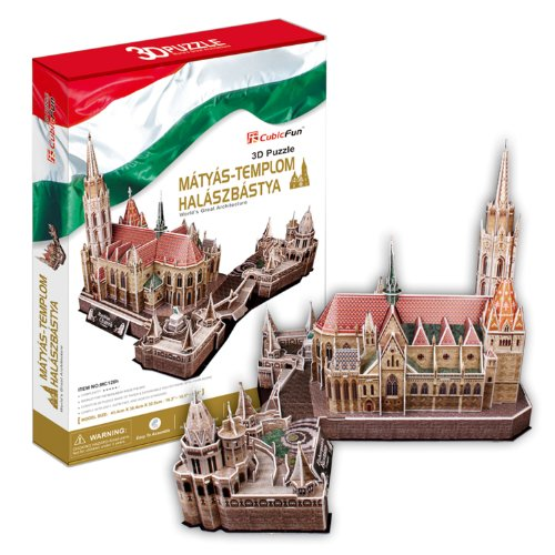 "Preisvergleich Produktbild CubicFun 3D Puzzle ""Matthias-Kirche - Budapest"""