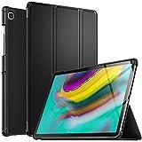 IVSO Hülle für Samsung Galaxy Tab S5e T720/T725 10.5, Ultra Schlank Slim Schutzhülle Hochwertiges PU mit Standfunktion Geeignet für Samsung Galaxy Tab S5e 10.5 T720/T725 10.5 Zoll Release, Schwarz