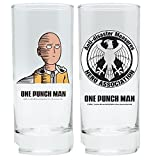 One 2 Verres à Punch Man – – Saitama & Hero Association – Logo