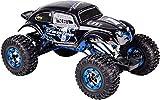 Carson 500404169 500404169-1:10 X-Crawlee XL Beetle 2.4G 100% RTR, Ferngesteuertes Auto, RC, inkl. Batterien und Fernsteuerung, Crawler, Offroad, Robustes Fahrzeug, schwarz