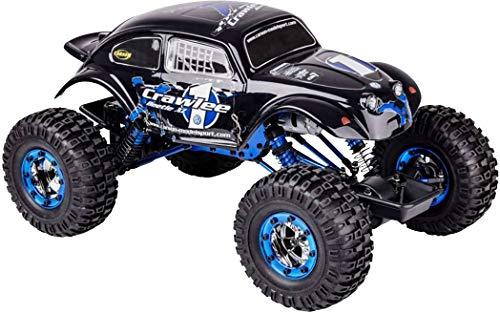 Carson 500404169 500404169-1:10 X-Crawlee XL Beetle 2.4G 100{aa7174637b586cbea40b4f62798ce5b84faaced8ce818349e9368505a909b42c} RTR, Ferngesteuertes Auto, RC, inkl. Batterien und Fernsteuerung, Crawler, Offroad, Robustes Fahrzeug, schwarz