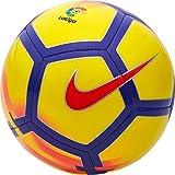 Mini ballon de football de La Ligue Santander espagnole, 2017/18,jaune et violet Taille unique multicolore