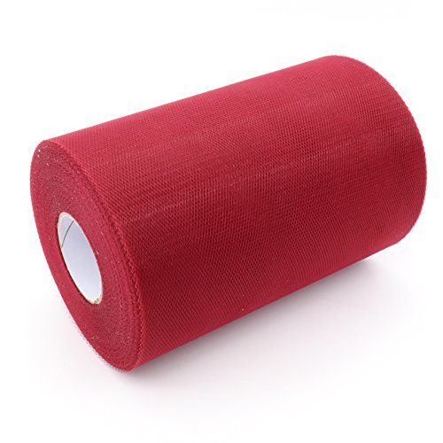 BITFLY 6 Zoll x 100 Yards (300FT) Tulle Roll Spool Häkeln Tube Top Tutu Party Wraping Handwerk...