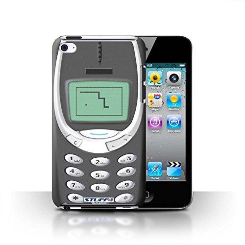 Coque de Stuff4 / Coque pour Apple iPhone 5C / Nokia 3310 bleu Design / Portables rétro Collection Nokia 3310 gris