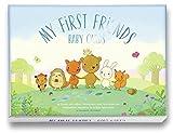 Baby Cards (Deutsch): 40 liebevoll illustrierte Meilenstein Foto Karten für das 1. Lebensjahr aus hochwertigem Naturpapier mit Struktur im Format DIN A6 als Geschenk zur Geburt, Schwangerschaft, Taufe