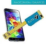 Magicsim Elite Dual Sim Adapter für Samsung Galaxy S5(kein Cut Modell)