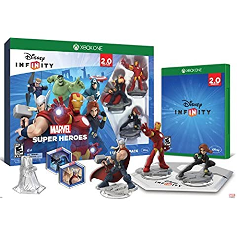 Disney INFINITY: Marvel Super Heroes (2.0 Edition) Video Game Starter Pack - Xbox One by Disney Infinity
