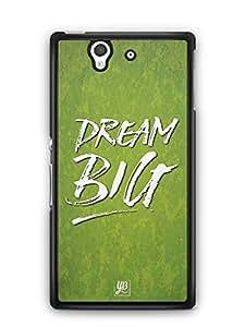 YuBingo Dream BIG Designer Mobile Case Back Cover for Sony Xperia Z