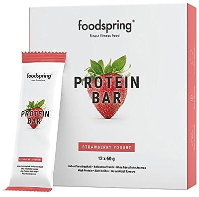 foodspring Barritas proteicas Sabor