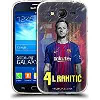 Official FC Barcelona Ivan Rakitic 2017/18 First Team Group 1 Soft Gel Case for Samsung Galaxy Grand Neo