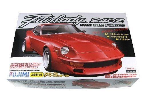 Preisvergleich Produktbild 1/24 Nissan Fairlady 240G (S30) Full-Works Ver. (Model Car)