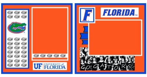 UNIFORMED Universität von Florida 2-page Layout Deko Papier, 820,3cm