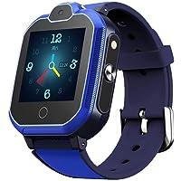 XIUWOUG 4G GPS Tracker Uhr für Kinder. Smartwatch mit Telefon und Notruf, Deutscher GPS Tracker Shop