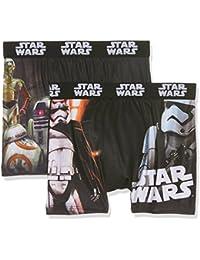 Star Wars Jungen Boxershorts Boxer Packx2, 2er Pack