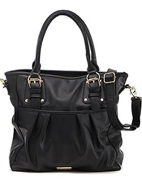MASQUENADA, Damen Handtaschen, Shopper, Henkeltaschen, Schultertaschen, 40x32x11,5 cm (B x H x T)