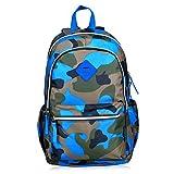 Limirror Schulrucksack Schulranzen Schultasche Sports Rucksack Freizeitrucksack Daypacks Backpack für Mädchen Jungen & Kinder Damen Herren Jugendliche mit der Farbe Tarnung